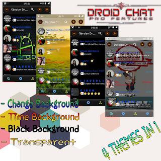 BBM Mod Droid chat! v9.5.19 Pro Fiture