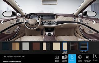 Nội thất Mercedes Maybach S650 2018 màu Vàng Silk (975)