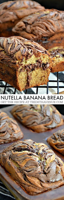 Nutella Banan Bread Recipe