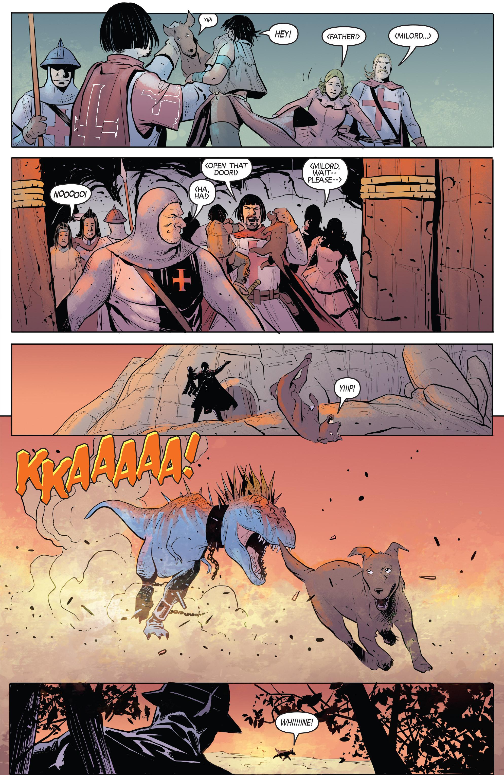 Read online Turok: Dinosaur Hunter (2014) comic -  Issue # _TPB 1 - 84