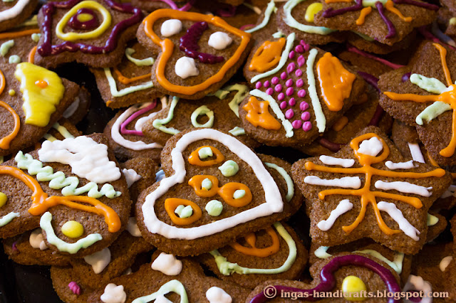 Piparkoogid / Gingerbread