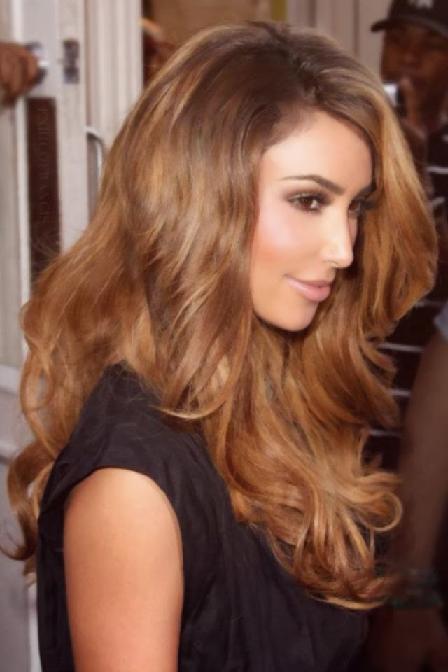 Kim Kardashian Light Hair Color