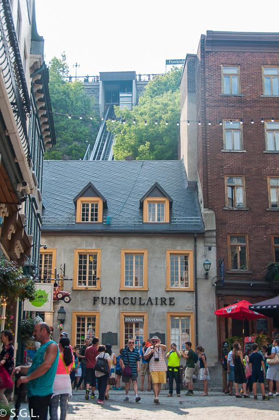 Quebec y su funicular