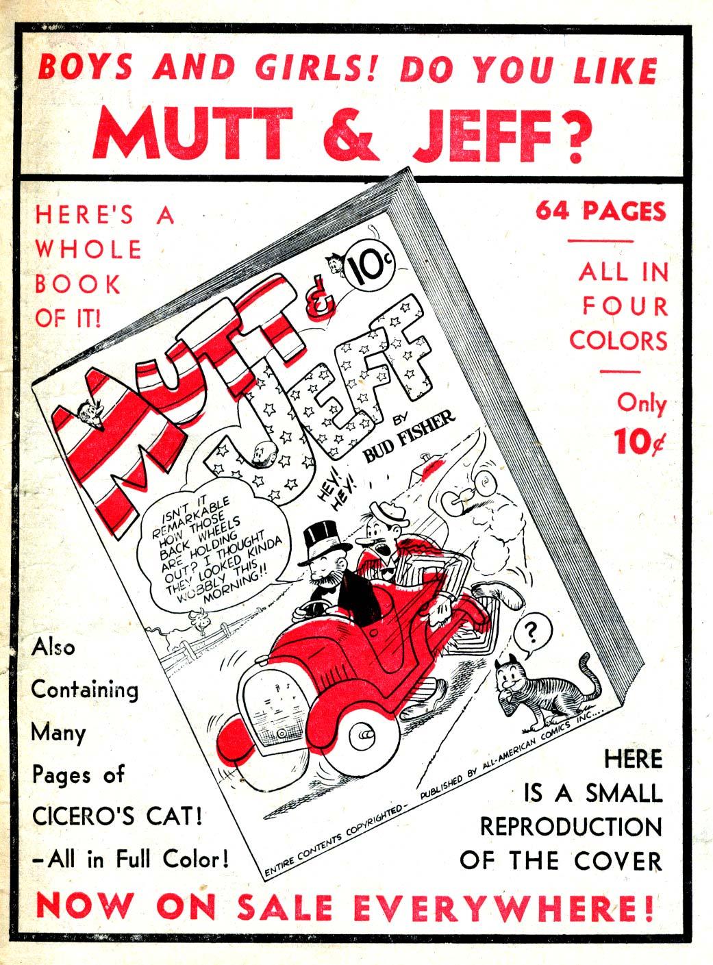 Read online All-American Comics (1939) comic -  Issue #6 - 21