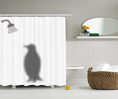 funny 3D shower curtains 2019