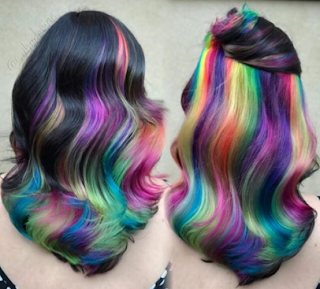 Somebody Integrated Every Instagram Hair Color Pattern Into One & The Outcome Is Fantastic