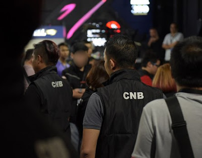 Singapore's CNB drug bust