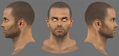 NBA 2K13 Tony Parker Cyberface Mod
