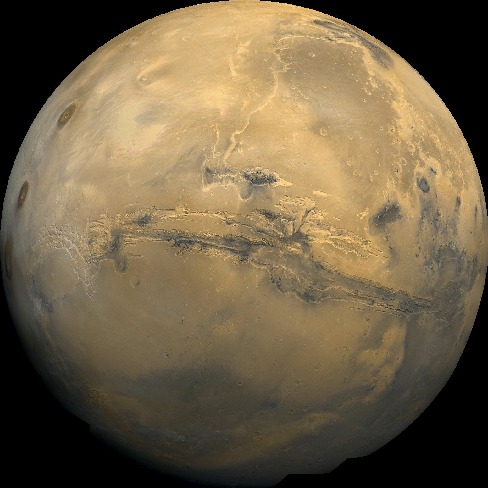 Valles Marineris: Un mostruoso canyon sulla superficie di Marte