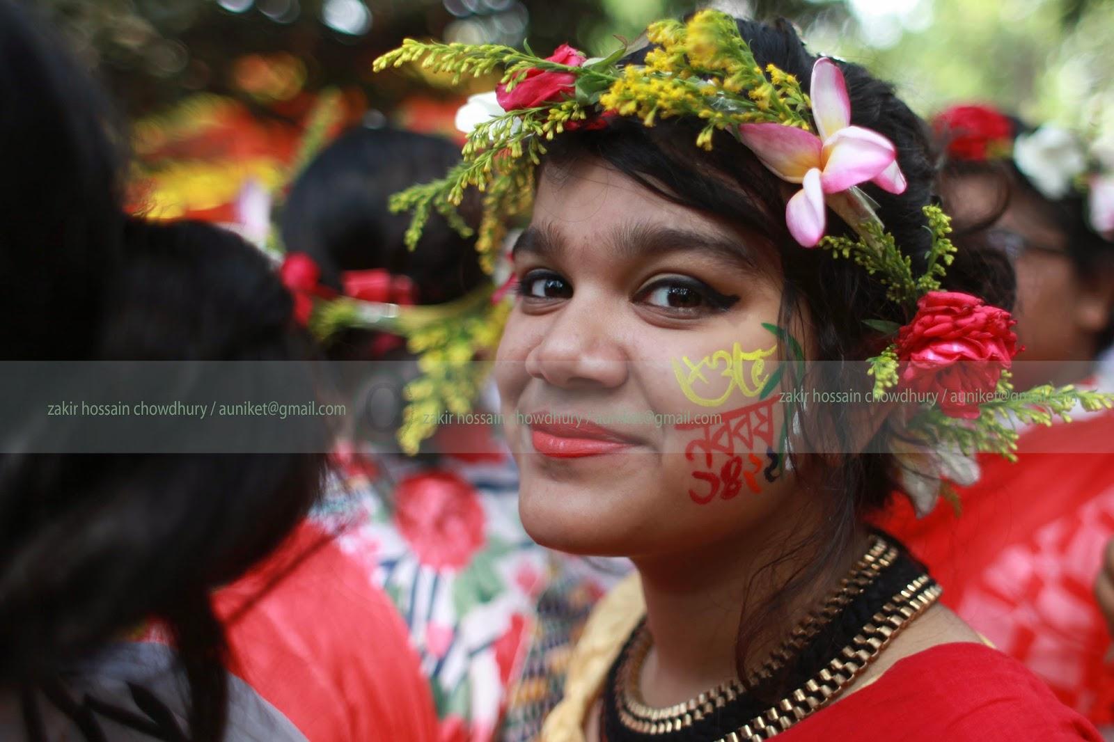 Bangladeshis celebrate pohela Boishakh or Bengali New Year 1422