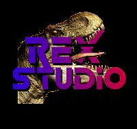rex studio, official logo, video editing, video editing services