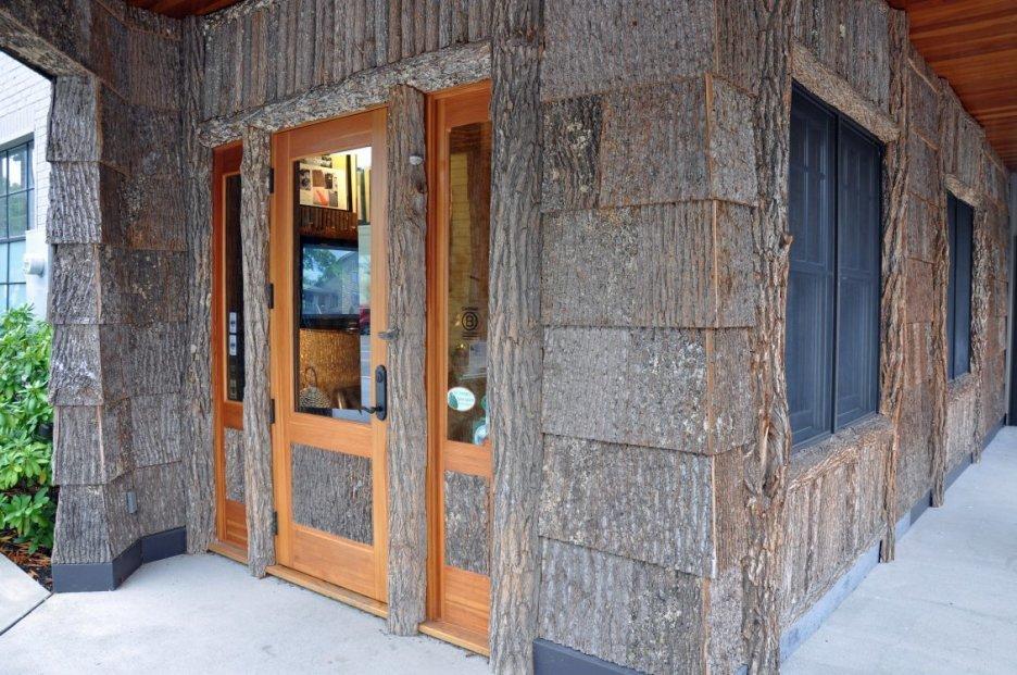 modern wooden house design
