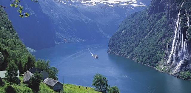 гейрангер фьорд норвегия