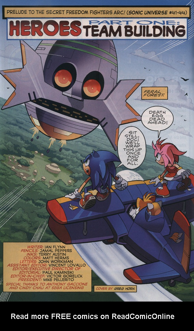 Read online Sonic The Hedgehog comic -  Issue #239 - 4