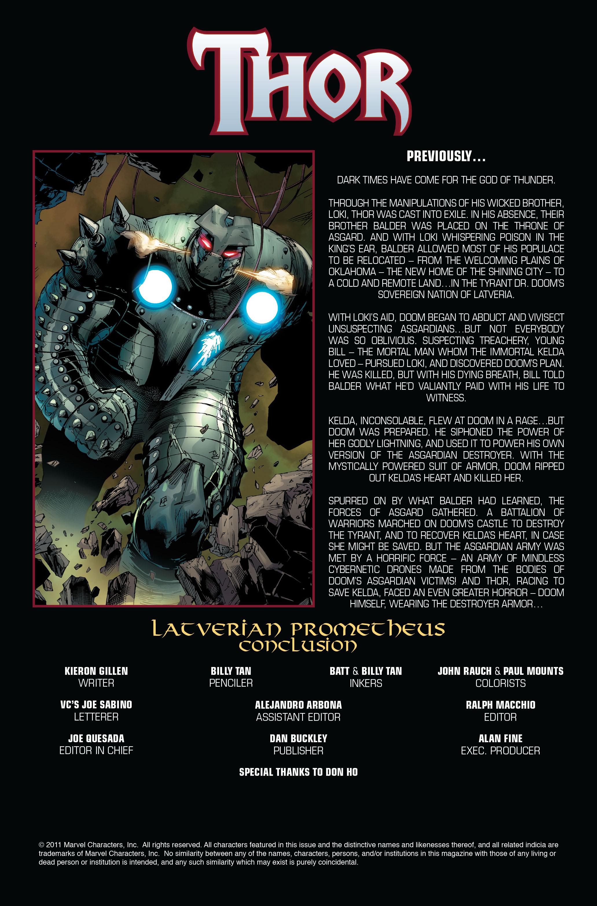 Thor (2007) Issue #606 #19 - English 2