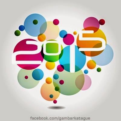 Gambar  Kartu Ucapan Selamat tahun Baru - Happy New Year 2015
