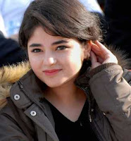 Zaira Wasim Smile