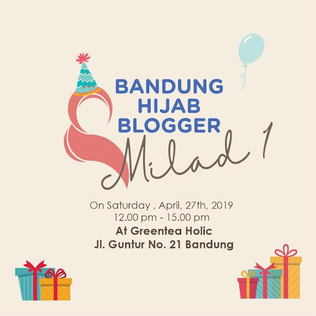 BHBMilad1 Bandung Hijab Blogger X Pocari Sweat