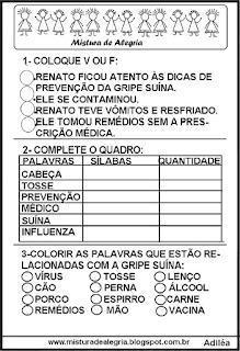 Avaliação sobre a gripe A/HN1