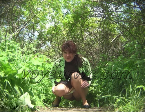 PissHunters 8593-8608 (Outdoor voyeur peeing. Voyeur public toilet spy cam)