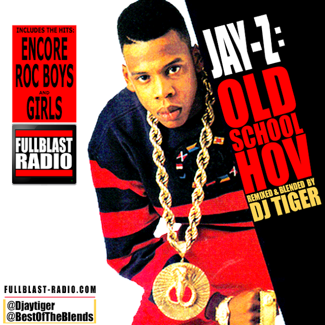 JAYZ - 'OLD SCHOOL HOV' (REMIXED BY DJ TIGER)