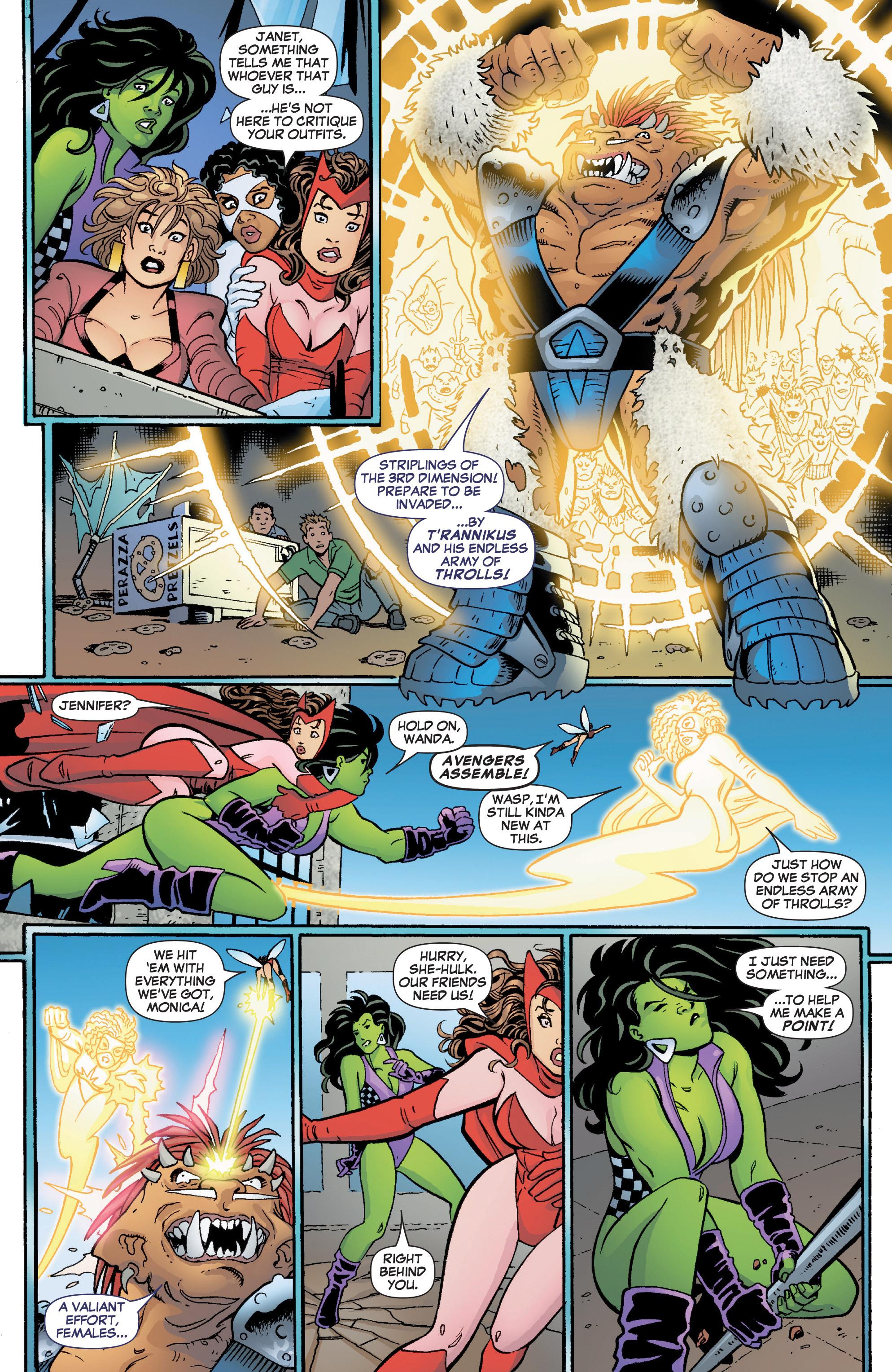 Read online She-Hulk (2005) comic -  Issue #3 - 15