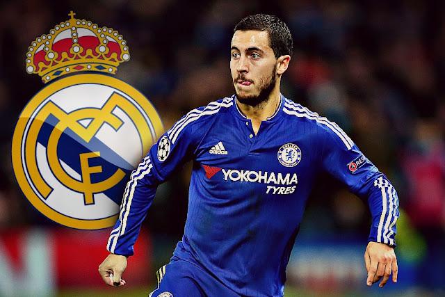 هازارد ينتقل الى ريال مدريد