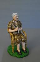 statuine presepe nonni personalizzate statuetta nonna anziana uncinetto orme magiche