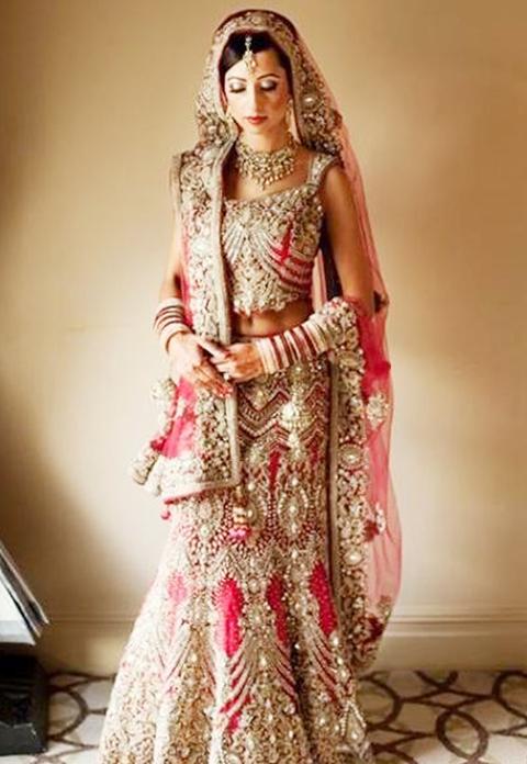 baju pengantin ala india muslim