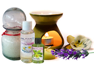 kit de aromaterapia