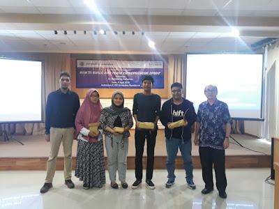 Seminar Wirausaha di Universitas Gunadarma Karawaci