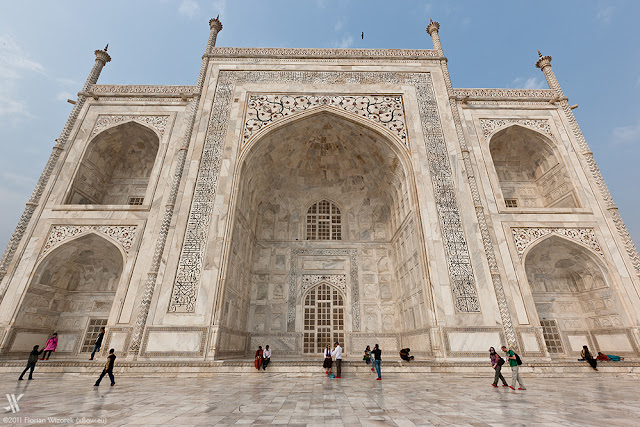 Taj Mahal Close View
