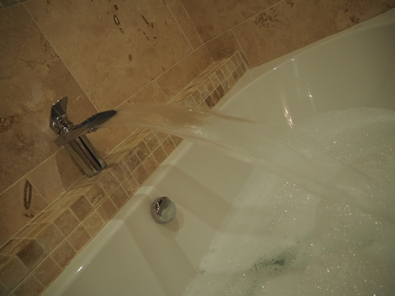 Bubble bath Ox Pasture Hall Country Hotel, Scarborough, Yorkshire, romantic hotel near beach in Scarborough