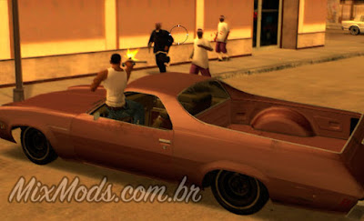 gta sa mod mirar atirar dentro do carro driveby drive by