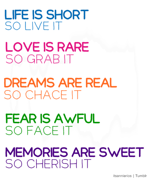 Cute Simple Quotes About Life: Love Being A Mummy : Life Is Short So LIVE IT