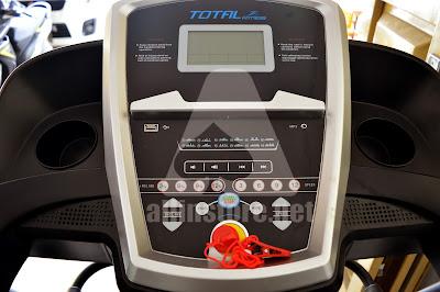 Treadmill Elektrik TOTAL Fitness TL-8066 auto incline 3 Fungsi