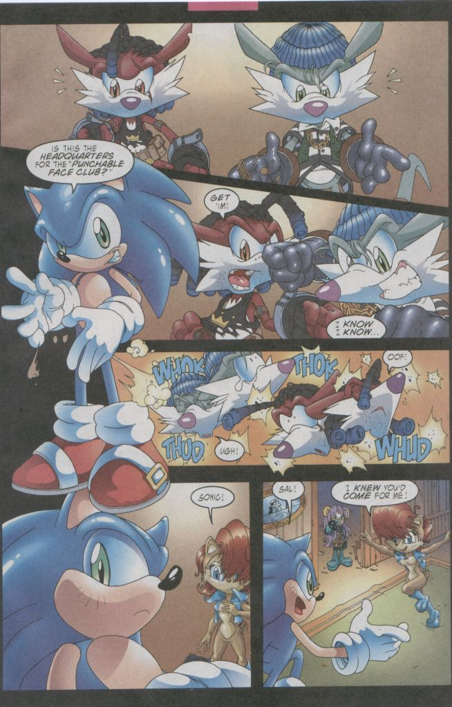 Read online Sonic The Hedgehog comic -  Issue #123 - 9