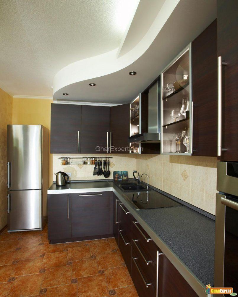 21 Small Kitchen Design Ideas Photo Gallery: 65 Photos Of Small Modular Kitchen Designs