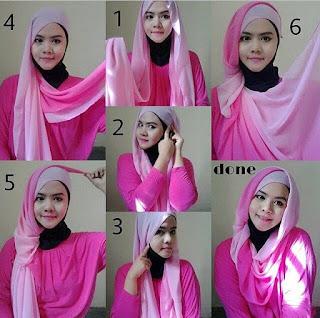 Contoh Model Hijab Terbaru 2016