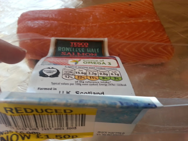 Salmon Fillet in Packet