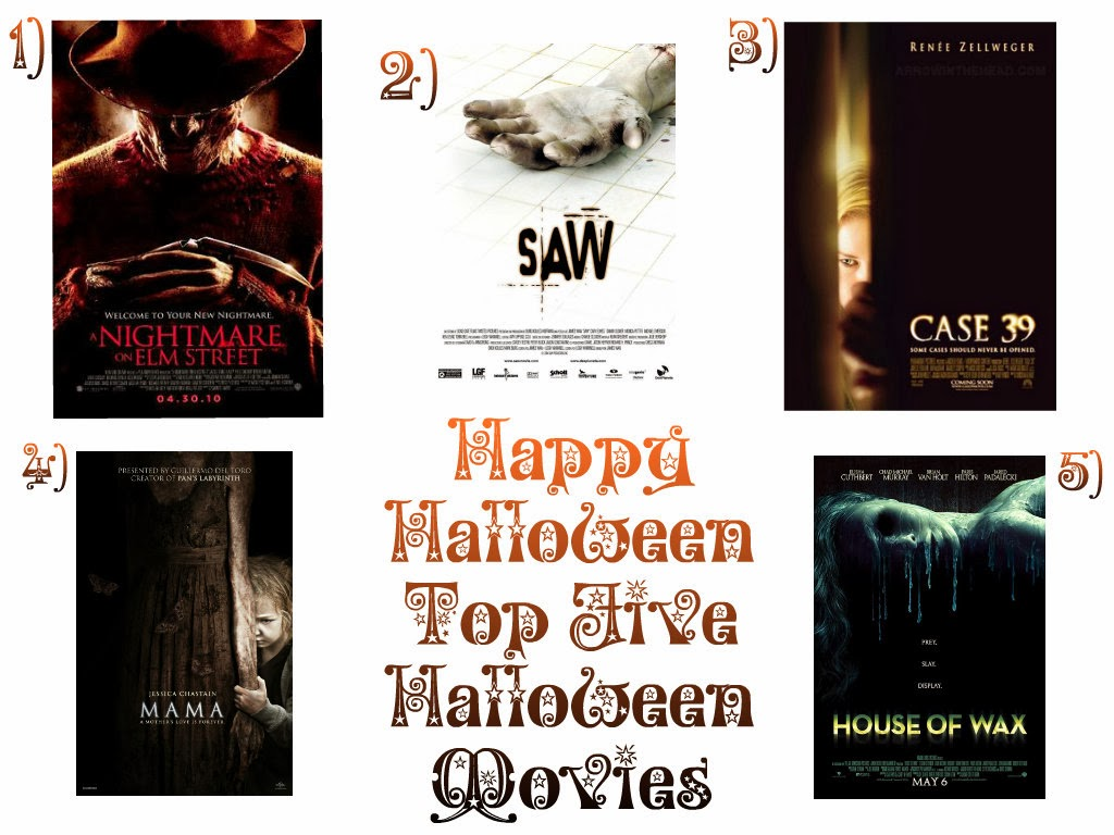Top 5 halloween movies 2013