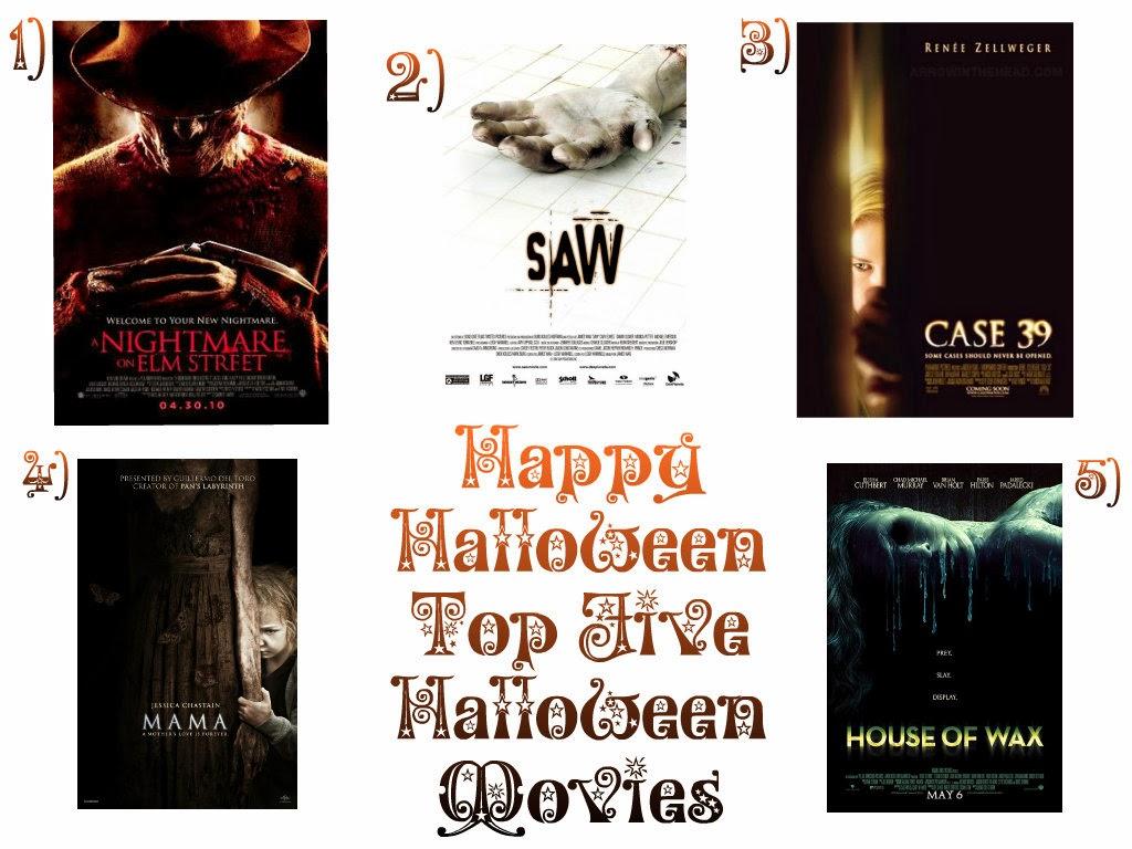 Halloween 2013 | My Top 5 Movies