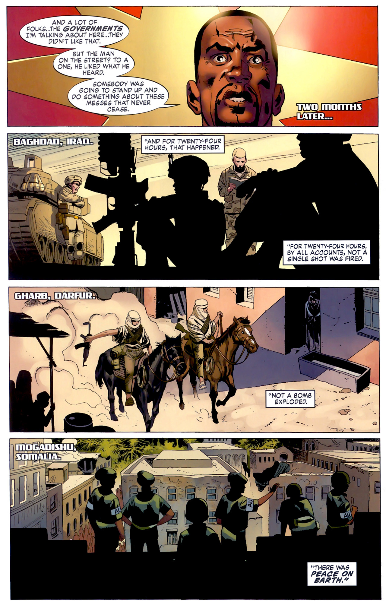 Read online Secret Invasion: The Infiltration comic -  Issue #6 - 18