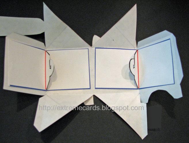 Cube Cat Folds Flat