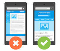 adaptive mobile website example