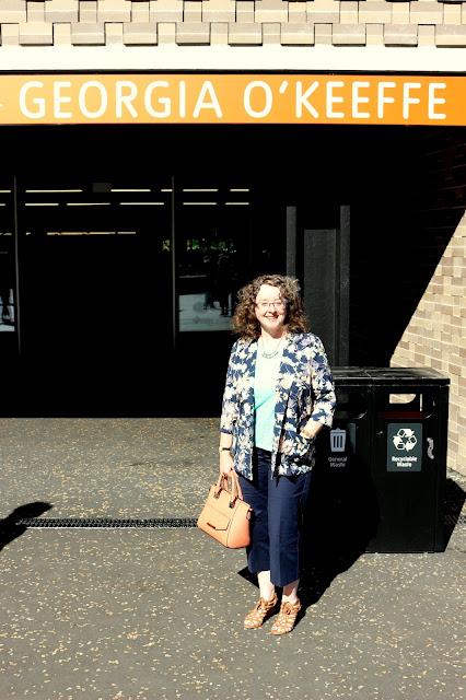 Outside Switch House, Tate Modern   Petite Silver Vixen