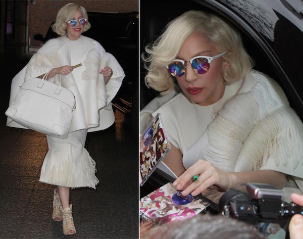 Another new modern look like Marilyn Monroe when she stepped out of her hotel in toronto.