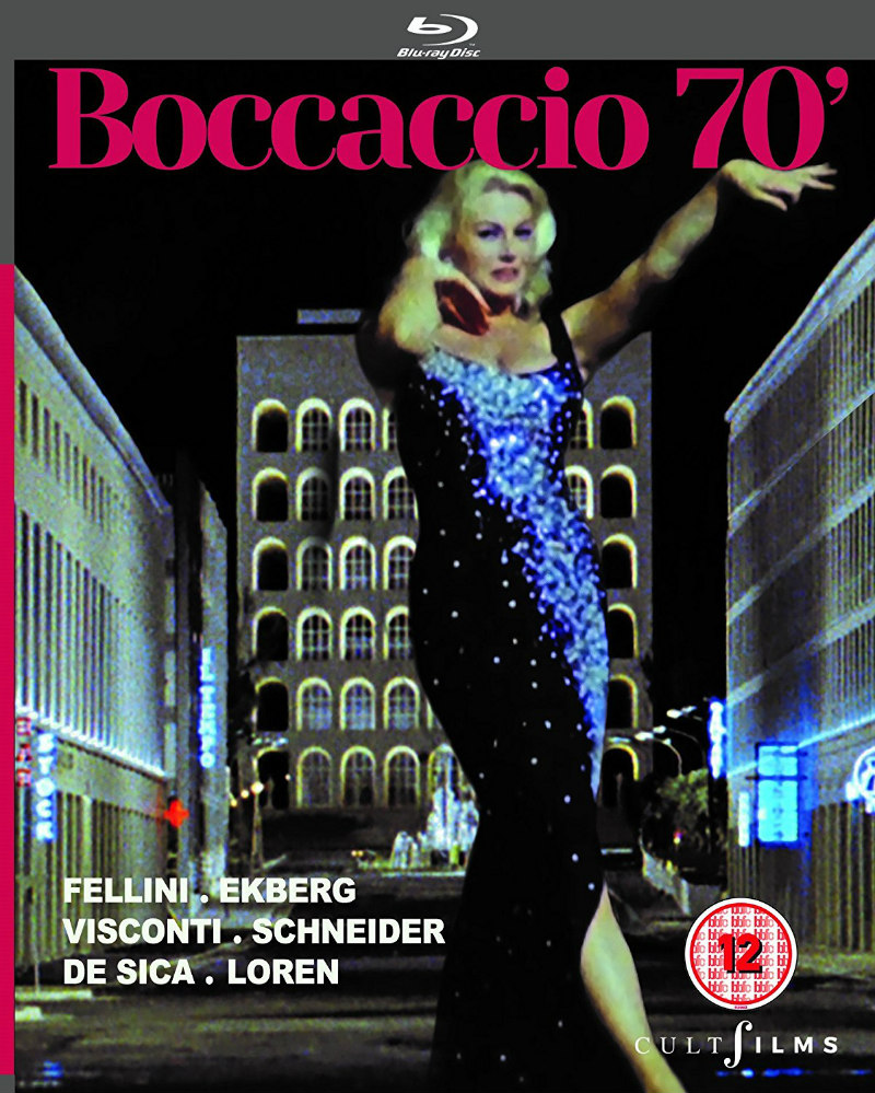 boccaccio '70 blu-ray cult films