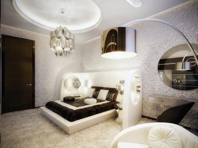 Dormitorios De Lujo Blanco Y Vintage Moderno By