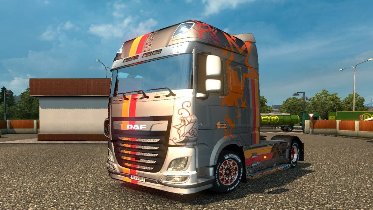 K&N Star Metallic Skin for DAF E6